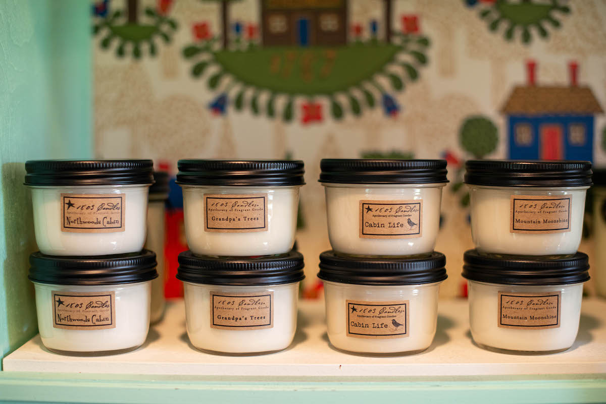 Antique Gifts and Collectables Gift Shop Candles