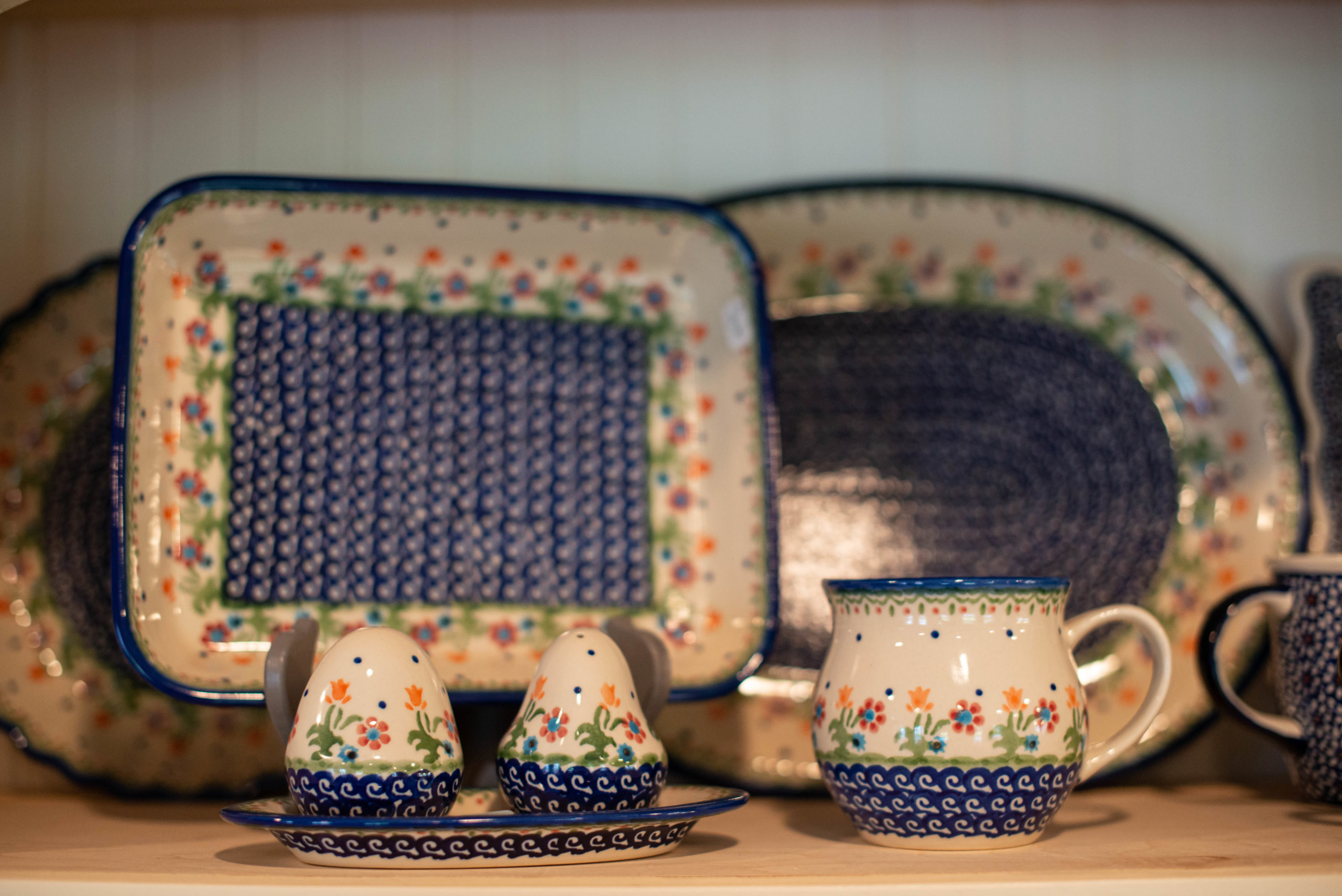 Antique Stores Reclaimed Vintage Polish Pottery B