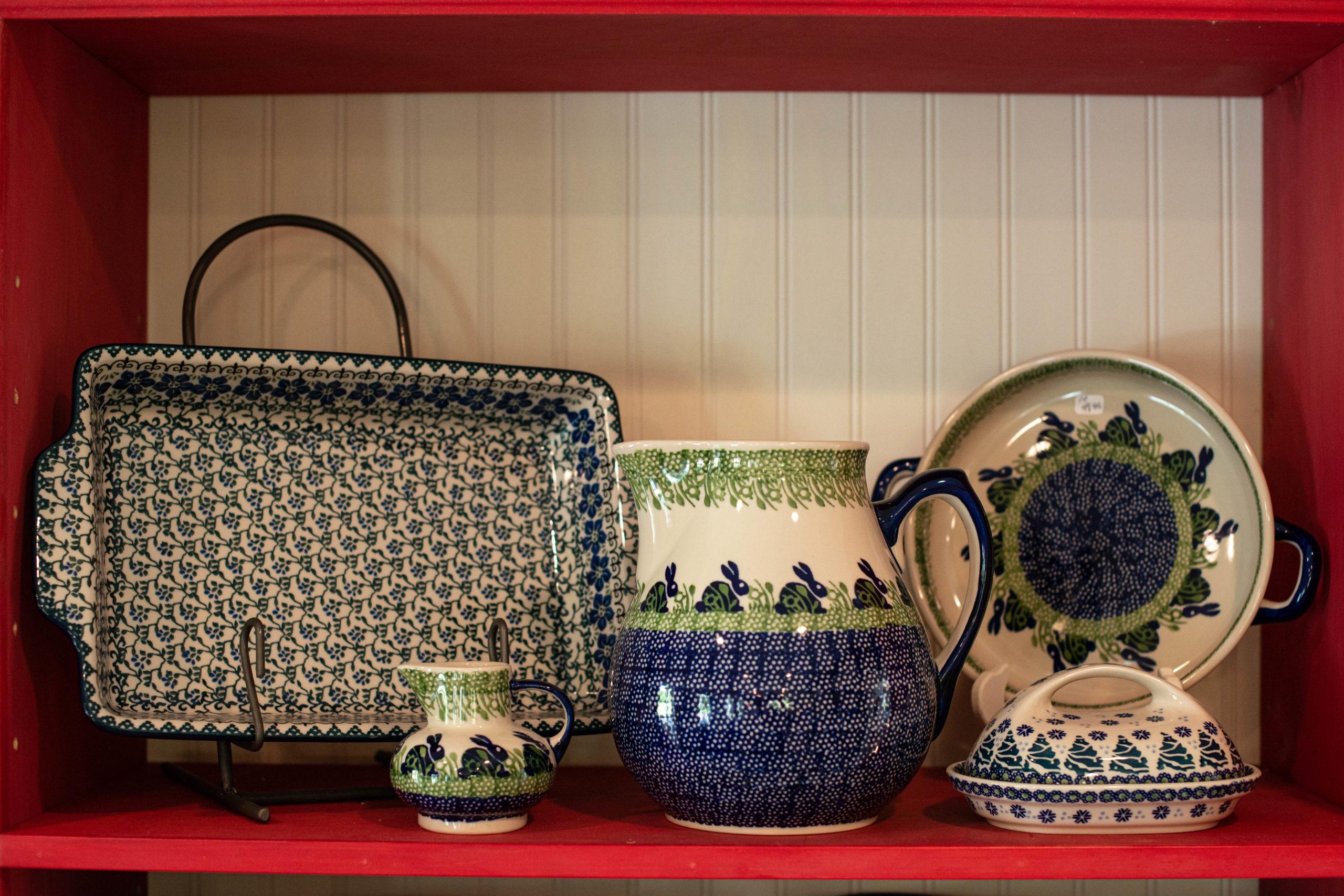 Antique Stores Reclaimed Vintage Polish Pottery E