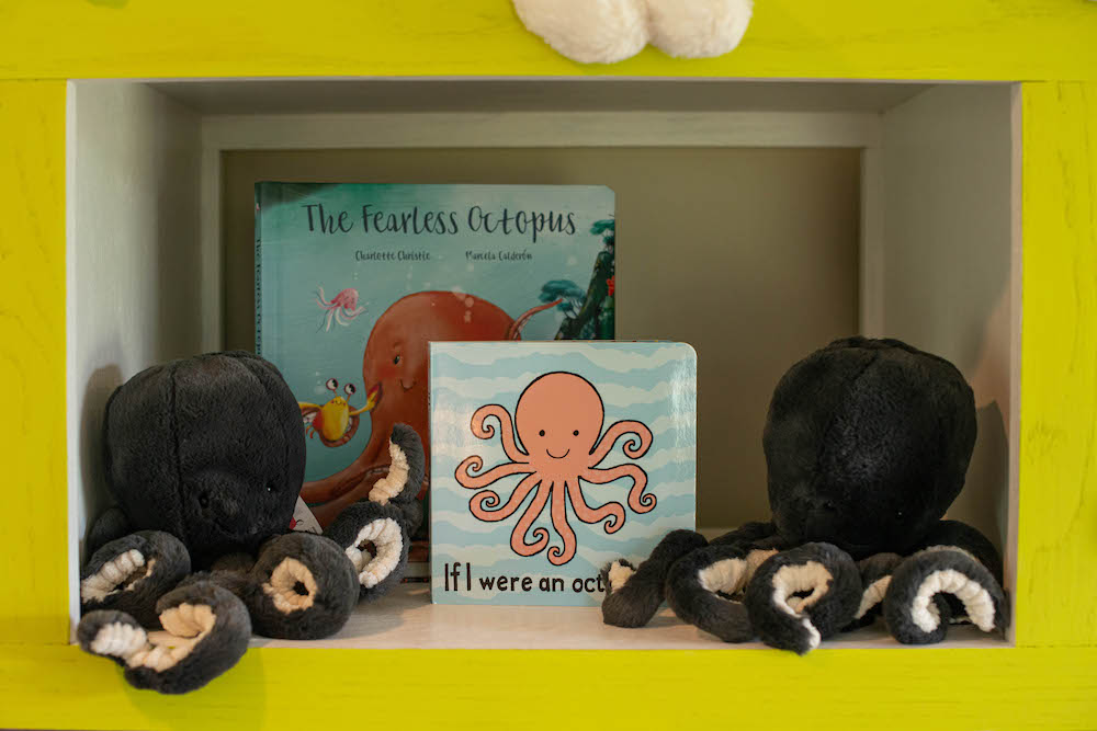 Antiques Gifts and Collectables Jellycat Octopus