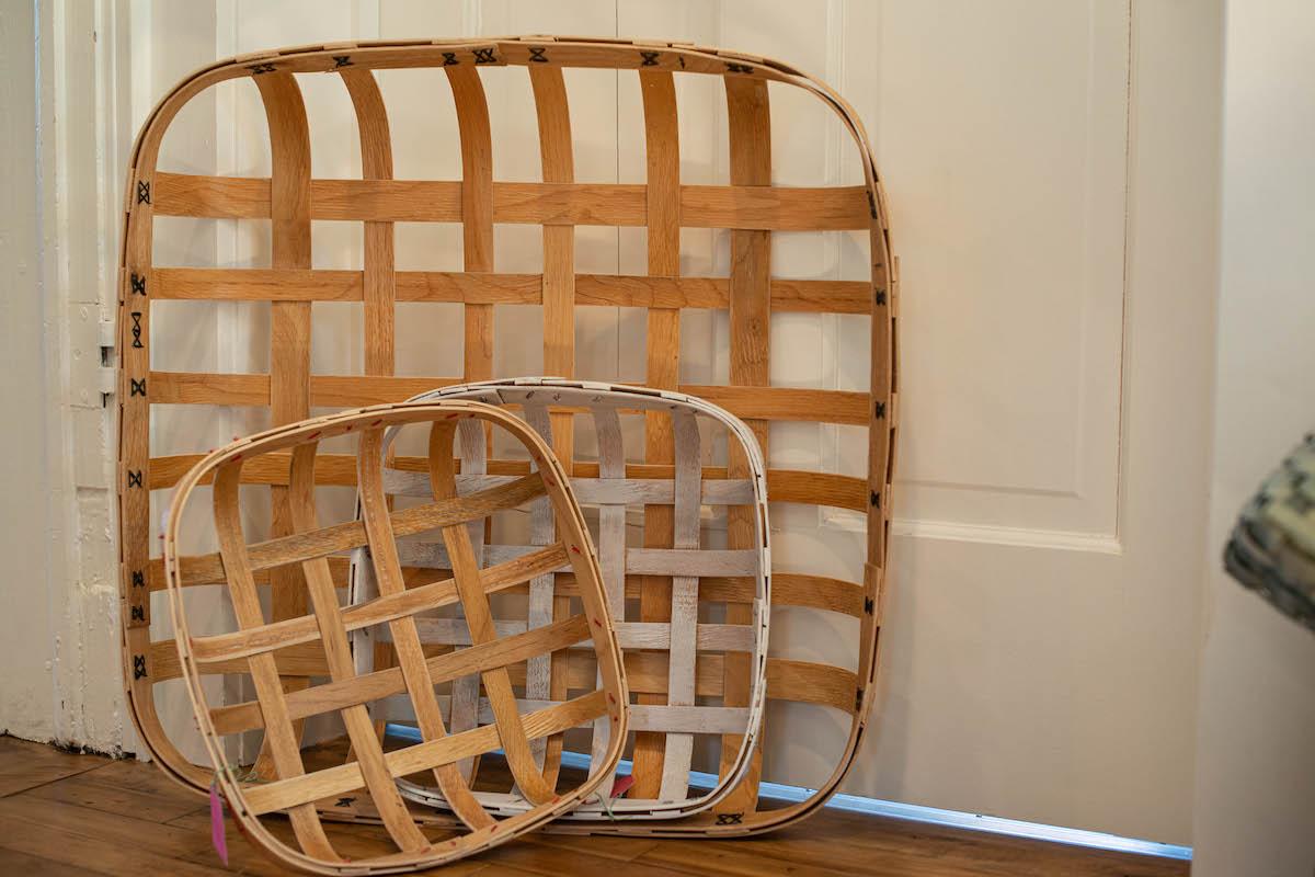 Reclaimed Vintage American Furniture Baskets