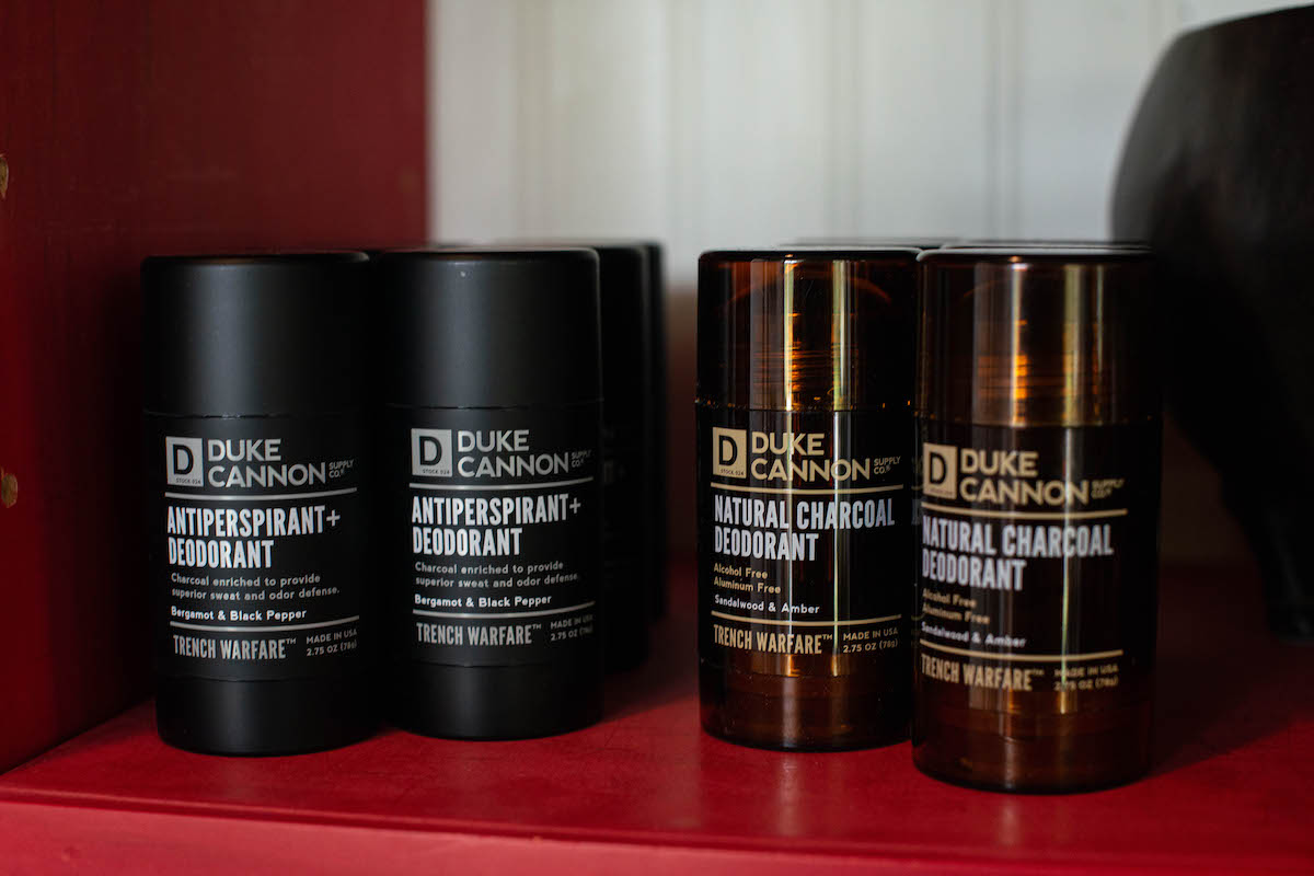 Things to Do in Wisconsin Gift Shop Duke Deodorant