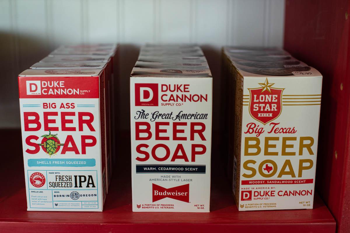 Things to Do in Wisconsin Gift Shop Duke Soap B